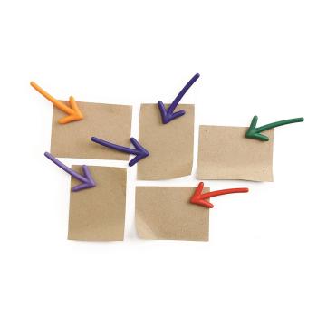 Magnetiske piler 6-pakk fra Qualy