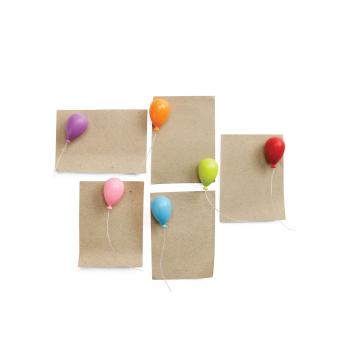 Ballong magneter 6-pakk fra Qualy