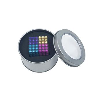 MagBalls 4 farger: fiolett, gull, pink og lys blå - 216-pakk