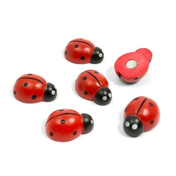 Ladybug magneter fra Trendform 6-pakk