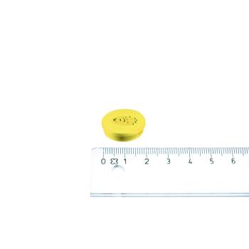 Gul magnet ø20 mm. fra Legamaster