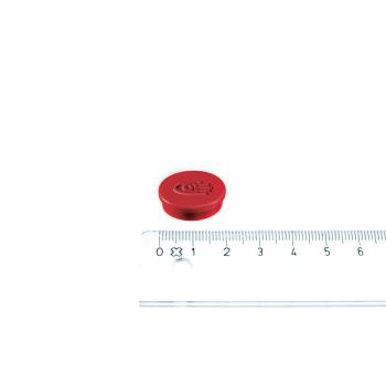 Rød magnet ø20 mm. fra Legamaster.