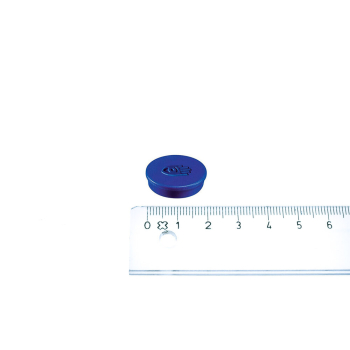 Blå magnet ø20 mm. fra Legamaster
