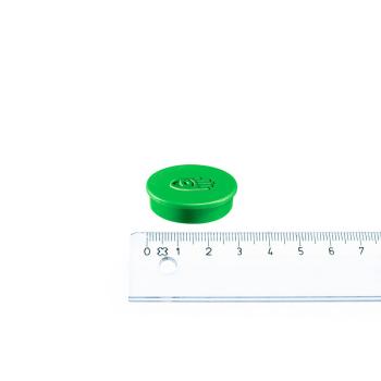 Grønn magnet ø30 mm. fra Legamaster