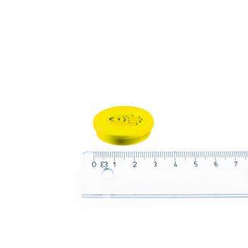 Gul magnet ø30 mm. fra Legamaster