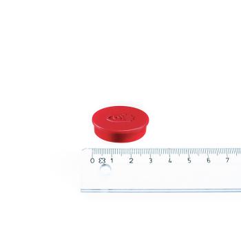 Rød magnet ø30 mm. fra Legamaster.