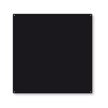 Svart metallbrett fra Trendform TZ4005 inkl. 10 sterke magneter