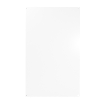 Hvit magnettavle fra Trendform 50x30 cm. inkl. 10 små sterke magneter