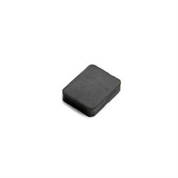 Ferritt magnet blokk 25x20x6 mm.