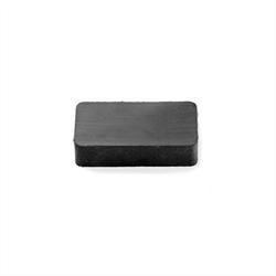 Ferritt magnet blokk 30x20x6 mm.