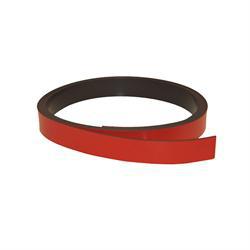 Rød magnetfolie 10 mm. x 1 meter