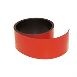 Rød magnetfolie 40 mm. x 1 meter