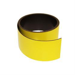 Gul magnetfolie 40 mm. x 1 meter
