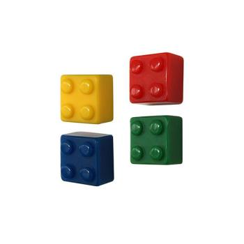 Magneter Brik Mix 4-pakk fra Trendform