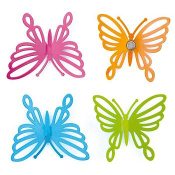 Butterfly mageneter 4-pakk fra Trendform