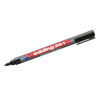 Svart board marker Edding 361