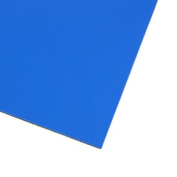Blått magnetark A4