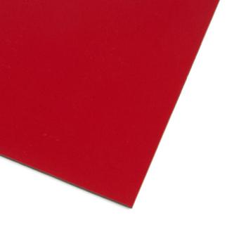 Rødt magnetark A4