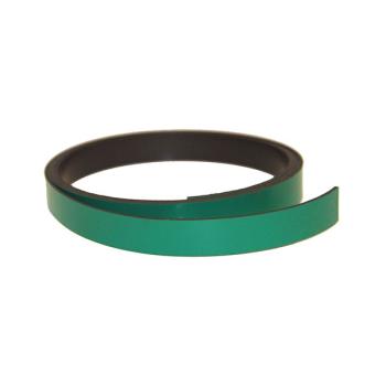 Grønn magnetbånd 1 meter x 10 mm.
