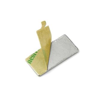 10-pakk neodymium mangeter selvkl. 40x12x1 mm.