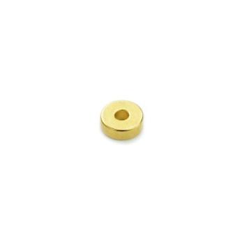 Ringmagnet gull neodymium 6x2x2 mm.