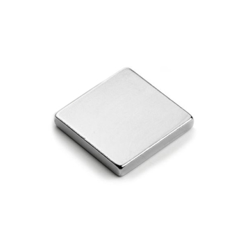 Supermagnet blokk 20x20x5 mm.