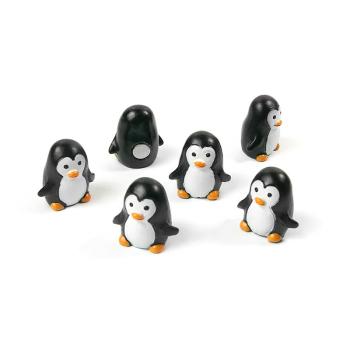 6-pakk magnetiske pingviner fra Trendform