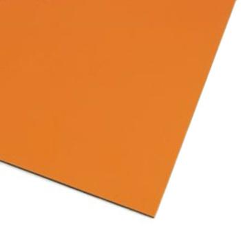 Oransje magnetisk folie A4 magnetark