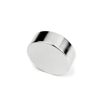 Supermagnet 30x10 mm. skive av neodymium