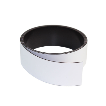 Hvit magnetbånd 30 mm. x 1 meter