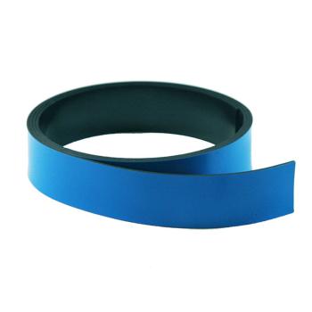 Blått magnetbånd 20 mm. x 1 meter