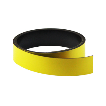 Gul magnetbånd 20 mm. x 1 meter