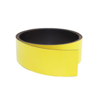 Gul magnetbånd 30 mm. x 1 meter