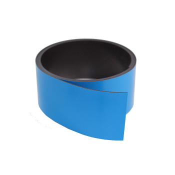 Blått magnetbånd 40 mm. x 1 meter