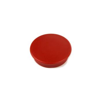 Rød rund kontormagnet Boston Xtra
