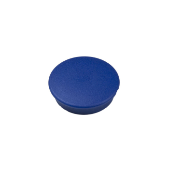 Blå rund kontormagnet Boston extra