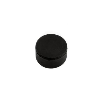 Gummi magnet 22x11 mm.