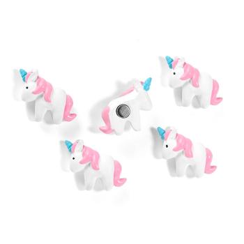 Trendform Unicorn 5-pakk kjøleskapsmagneter