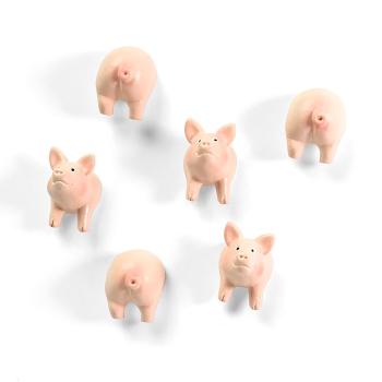 PIGGY gris-magnet 6-pakk fra Trendform FA4593
