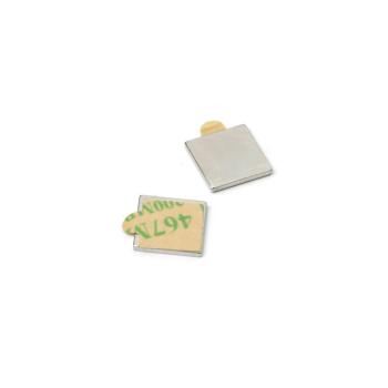 10-pakk supermagneter med lim 10x10x1 mm