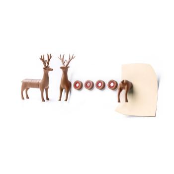 My Deer hjort magnet i 6 deler fra Qualy QL10175-BN