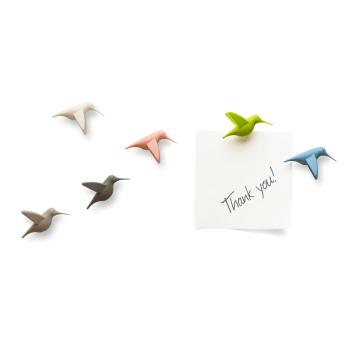 Kolibri magneter fra Qualy QL10102-PT Humming Bird's Message
