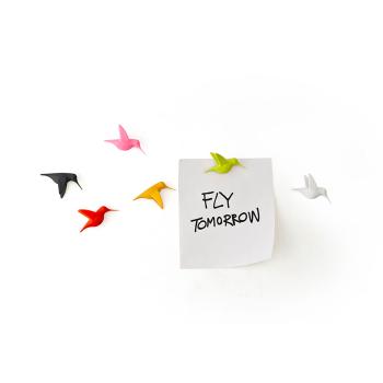 Humming Bird's Message Qualy QL10102-MX - magnetiske kolibri fugler